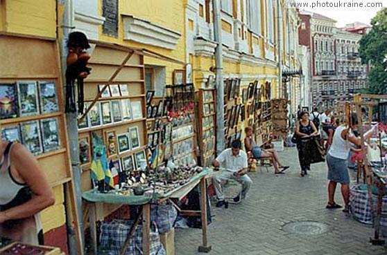 Андреевский спуск киев город фото