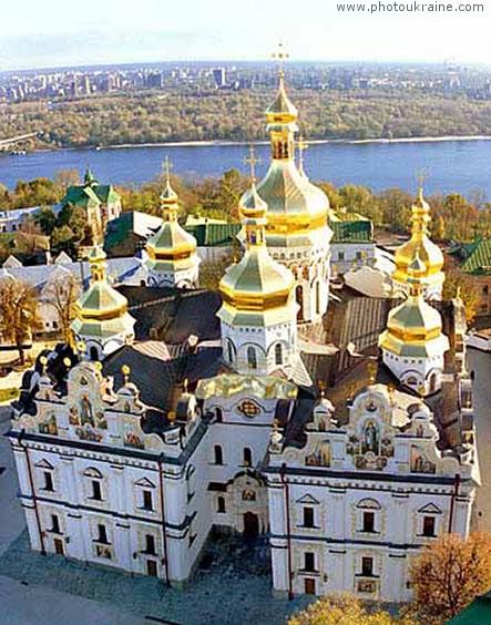 Успенский собор Киев город Фото Украины