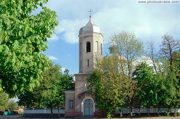 Тульчин колокольня успенской церкви