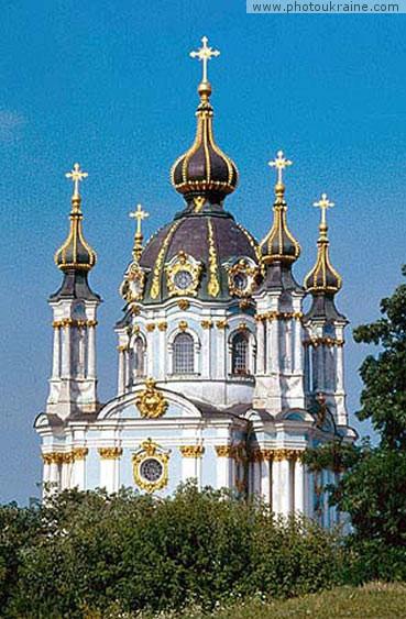Андреевскую церковь часто называют лебединой песней выдающегося мастера архитектуры Бартоломео Растрелли.