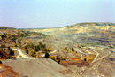 Komsomolske. Quarry stretched a kilometer, Donetsk Region, Geological sightseeing