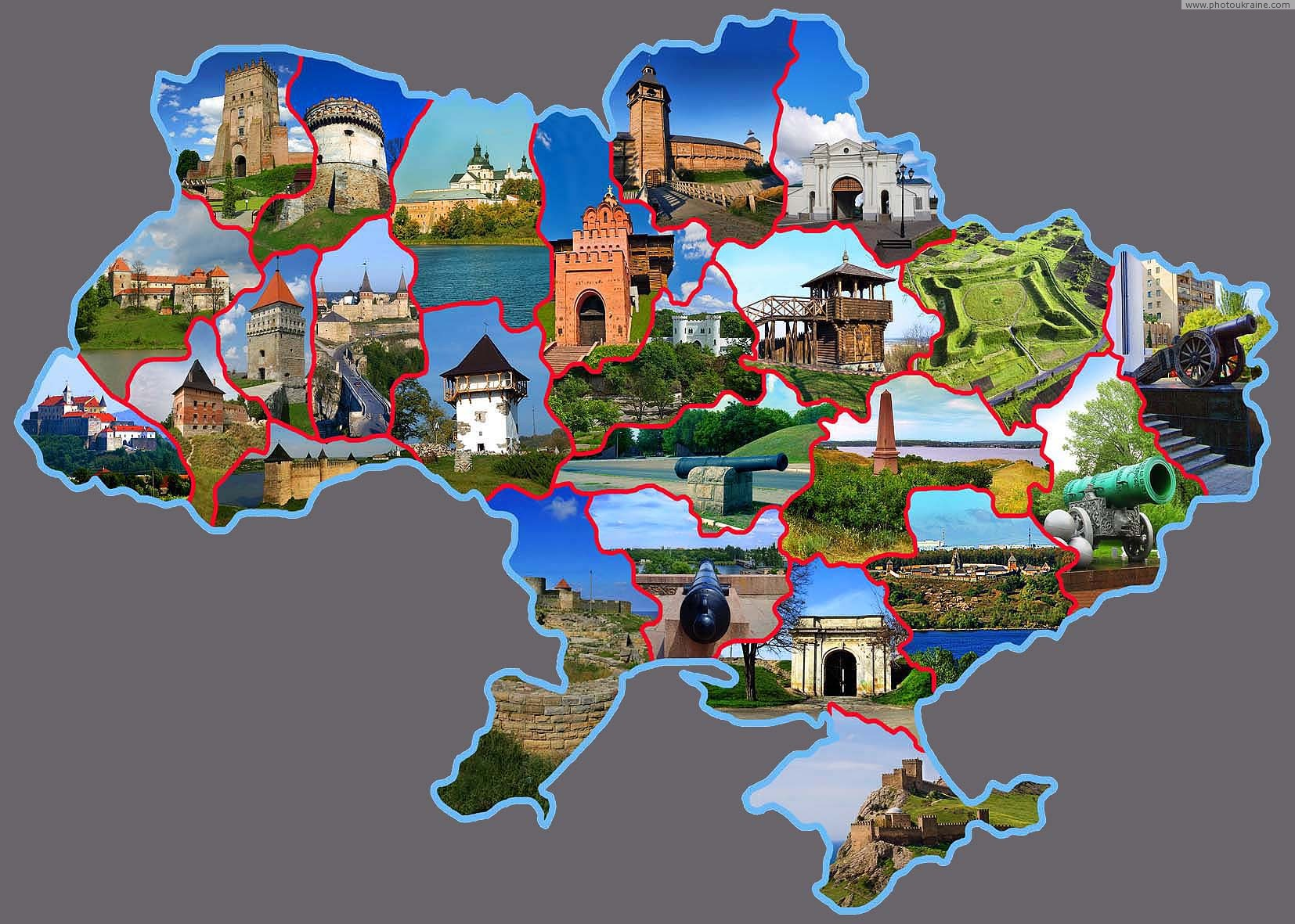 Fortresses of Ukraine